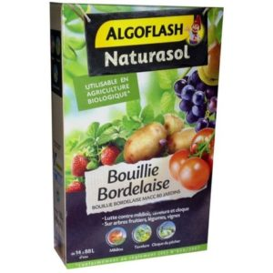 photo de l emeballage de la Bouillie Bordelaise Naturasol 350g